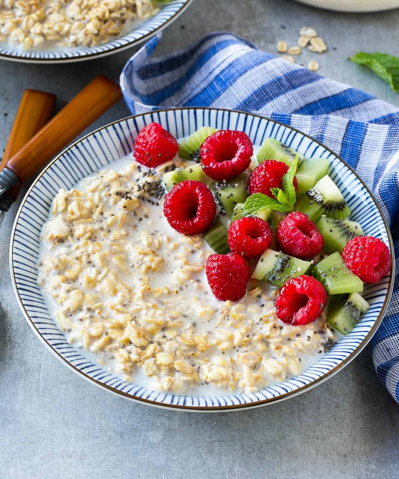oats and fruits