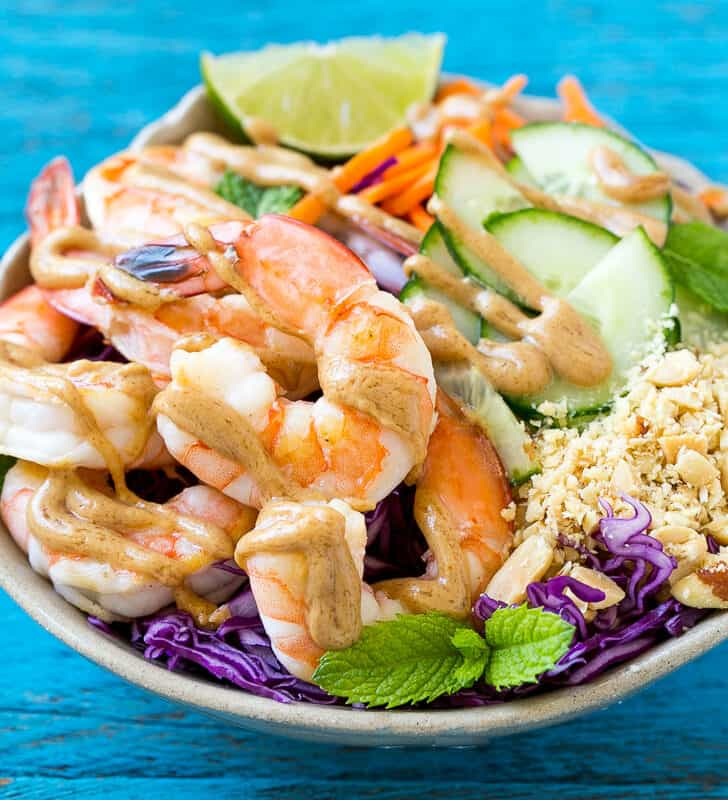 easy asian shrimp salad recipe