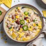 best white chicken chili with 4 different beans