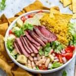 carne asada burrito bowl recipe