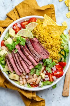 Carne Asada Steak Bowls