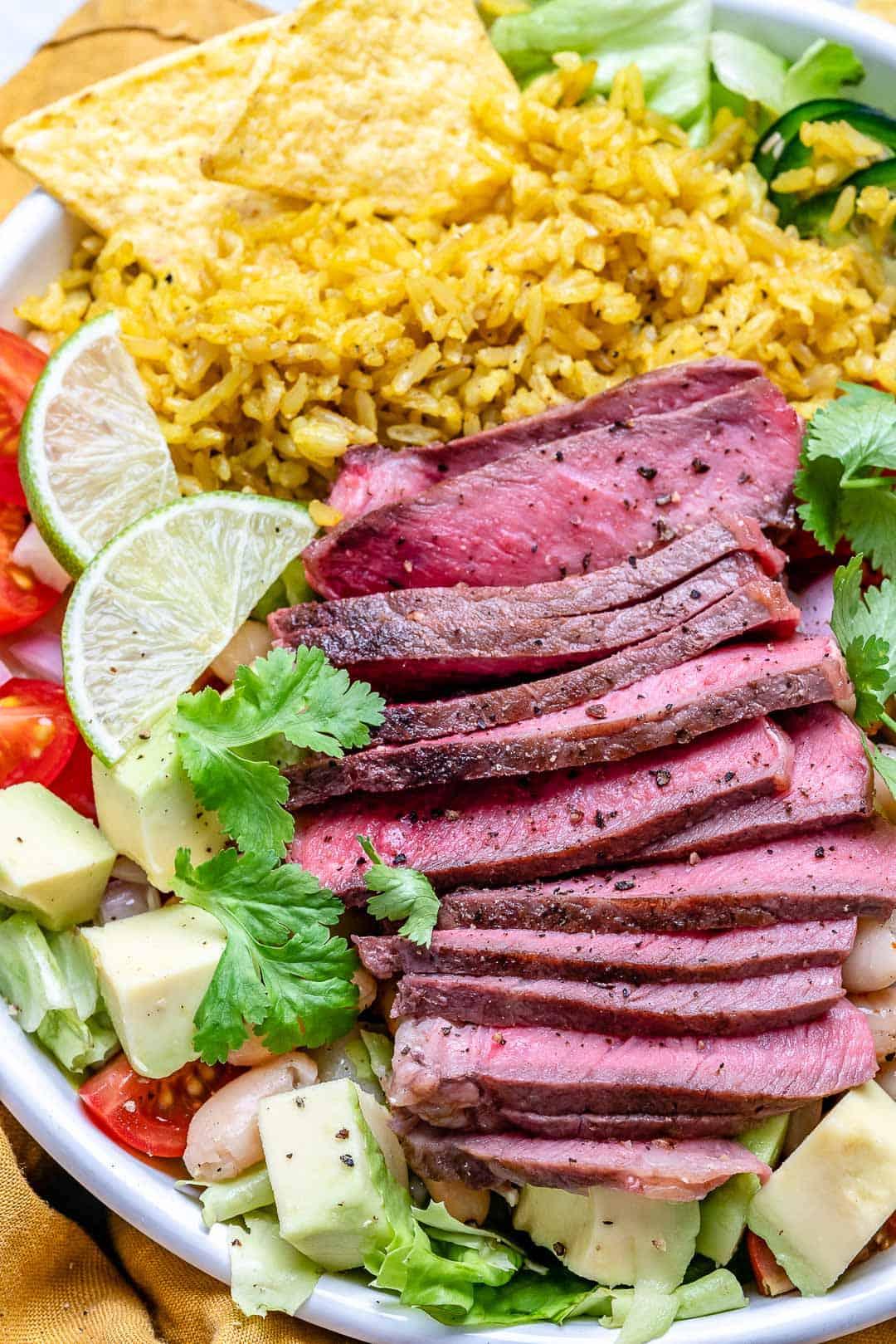 steak burrito bowl recipe