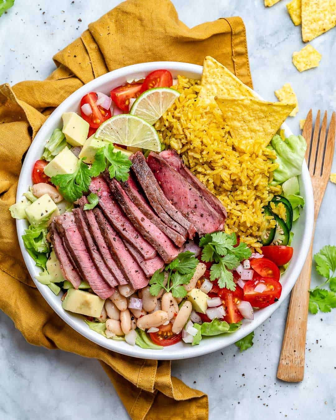 carne asada bowl recipe