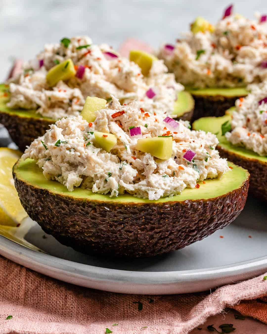 easy chicken salad recipe with avocados