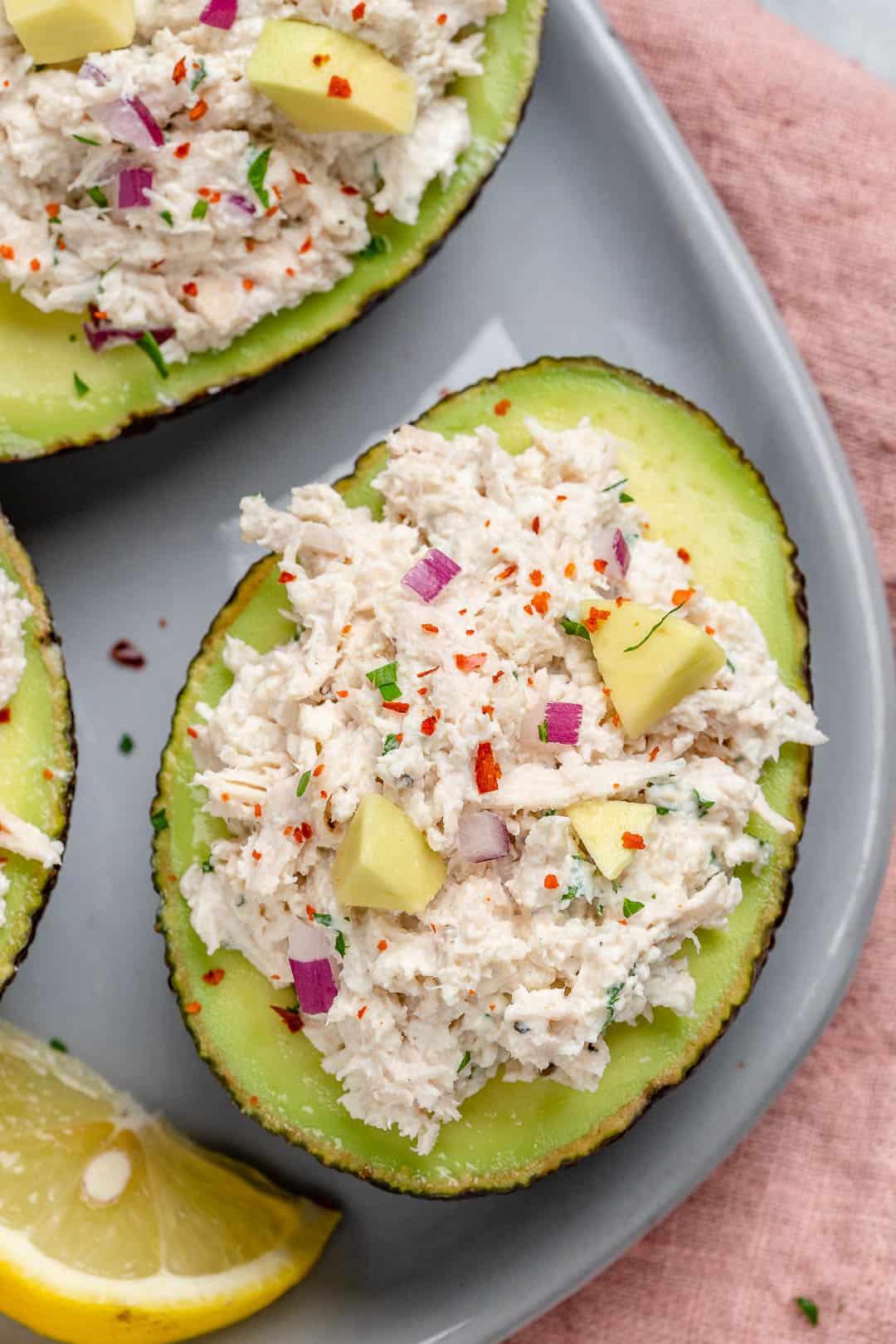 best chicken salad recipe with greek yogurt