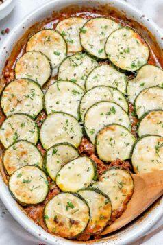 Greek Zucchini Moussaka
