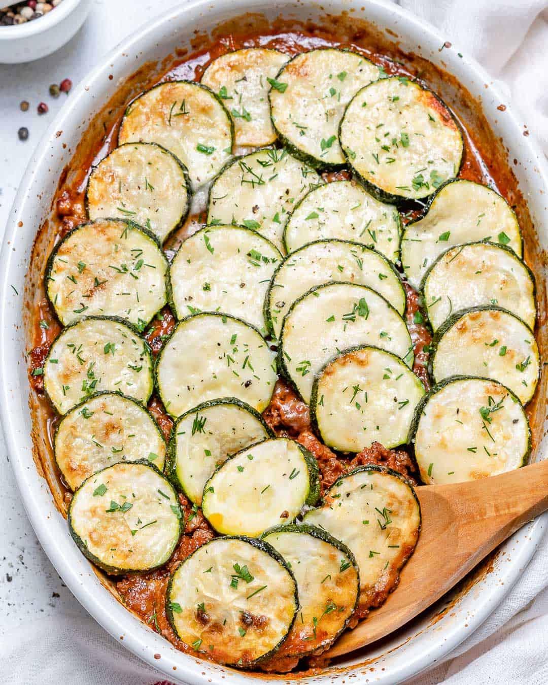 zucchini moussaka recipe