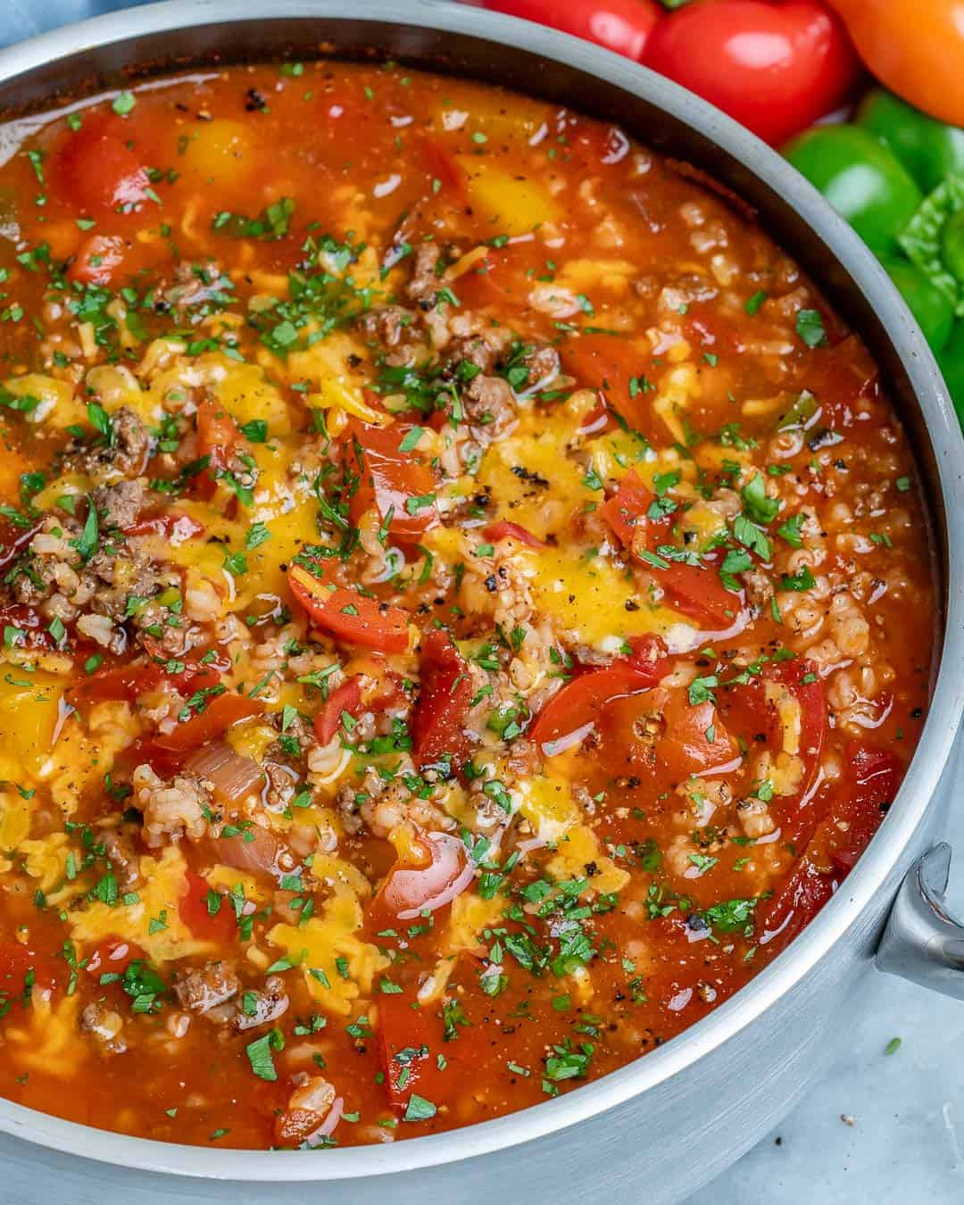 healthy soup recipe with beef and veggies