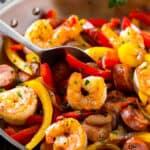 cajun shrimp and sausage