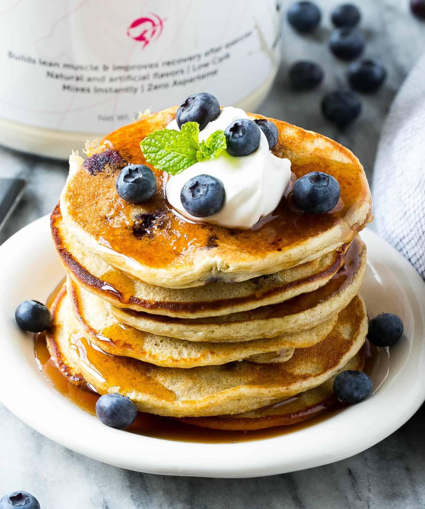 easy protein panckes