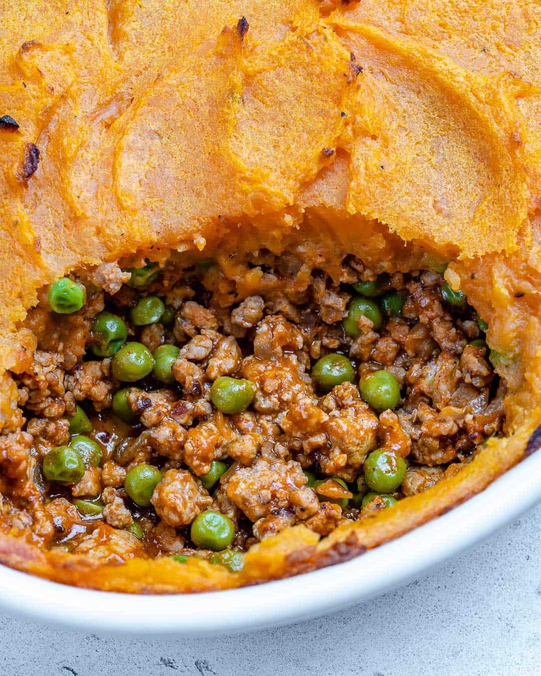 easy sweet potato cottage pie recipe