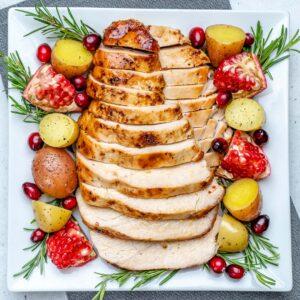 easy maple roasted turkey breast recipe