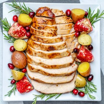 easy maple roasted turkey breast recipe