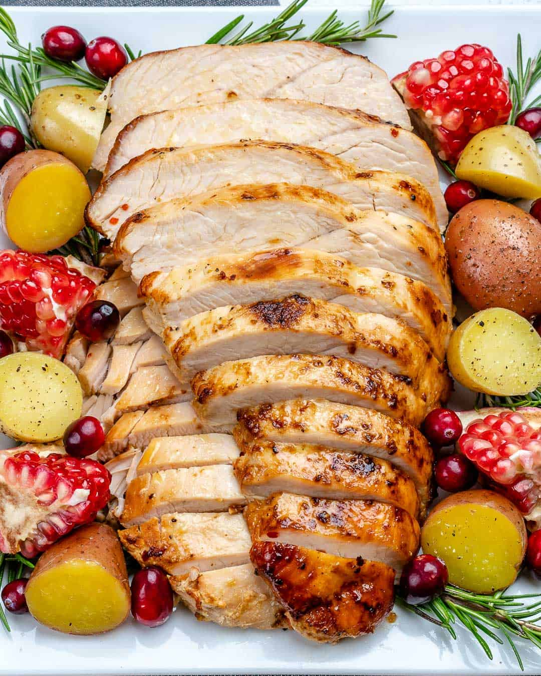 Easy Oven Roasted Maple Turkey Breast Healthy Fitness Meals