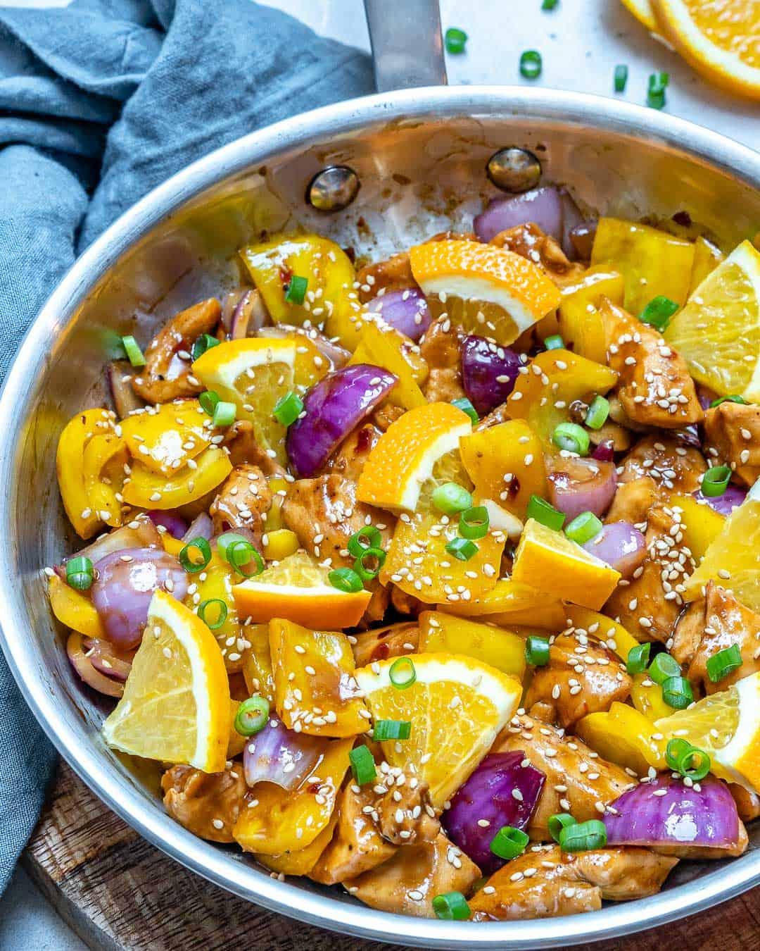 healthy and easy orange chicken recip