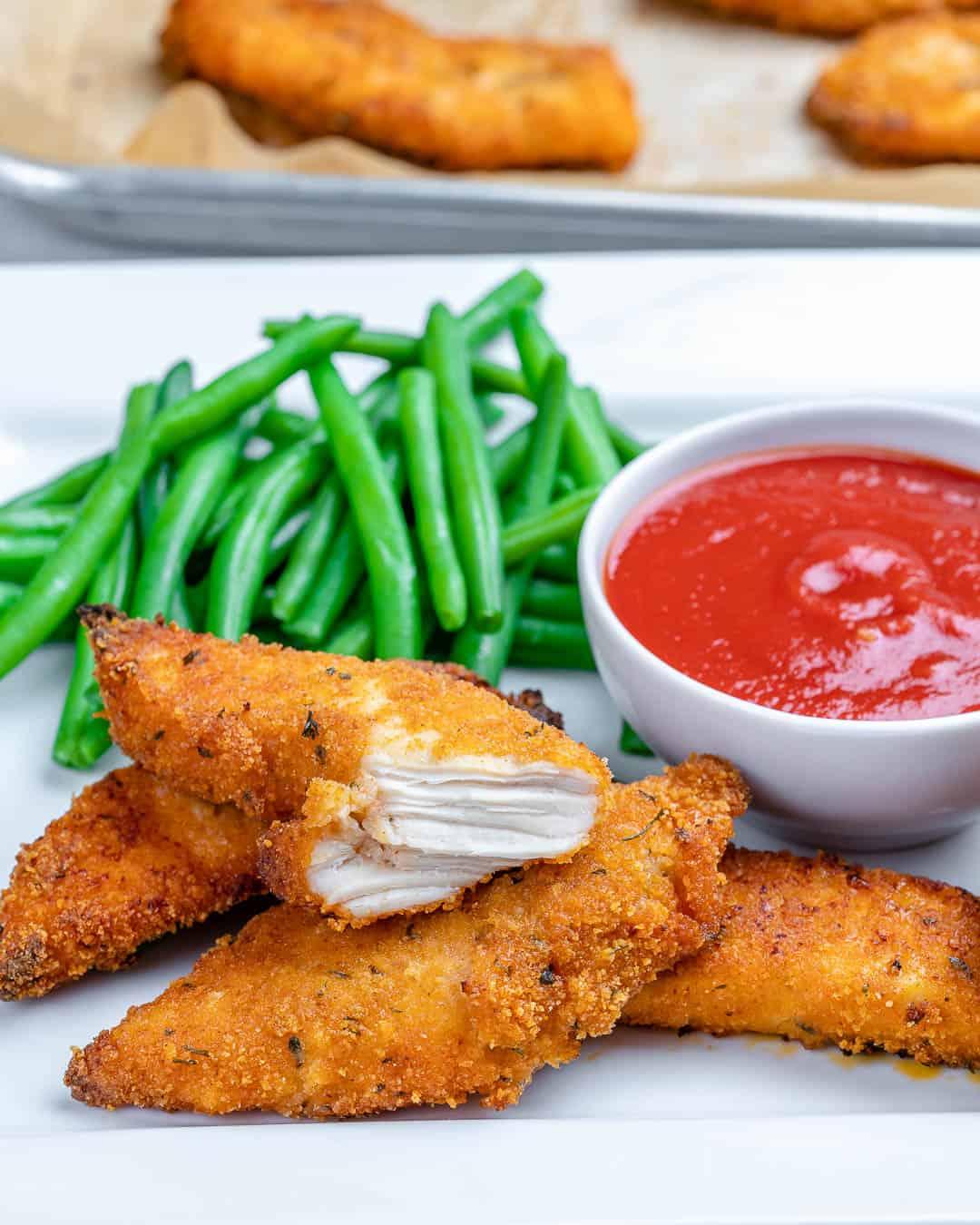 easy baked chicken tenders recipe