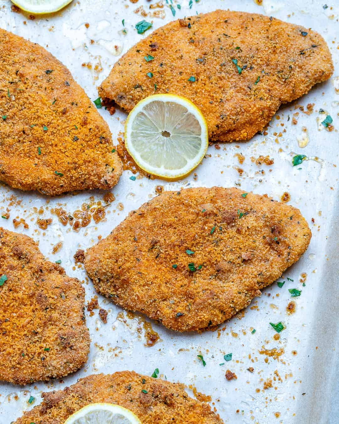 roasted chicken breast cutlets