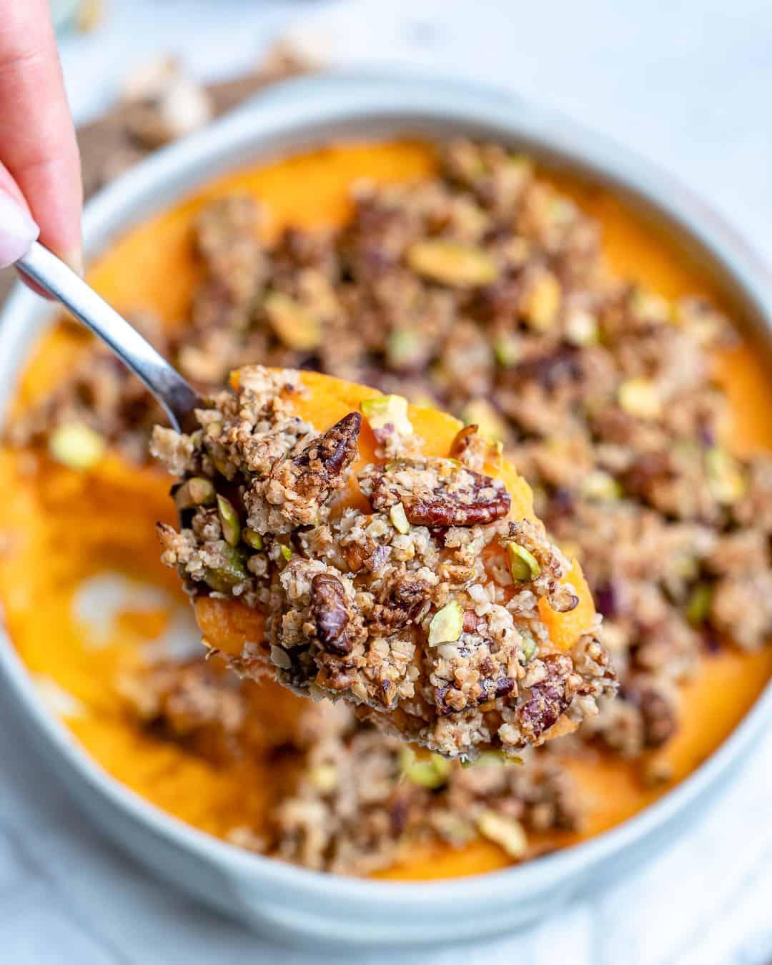 sweet potato casserole toppings