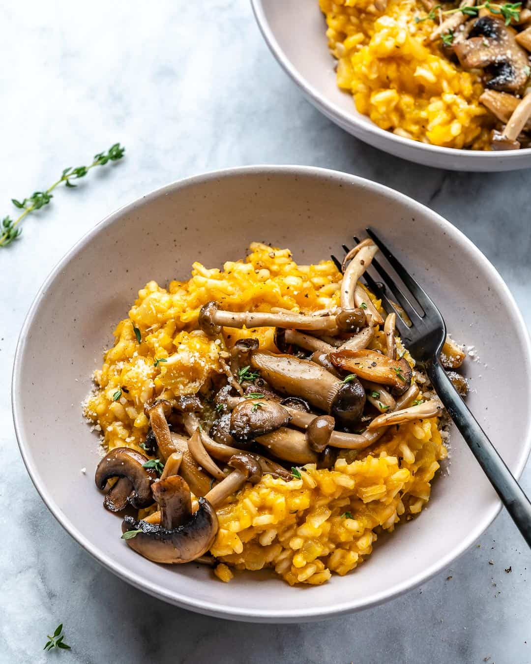 easy creamy vegetarian risotto recipe