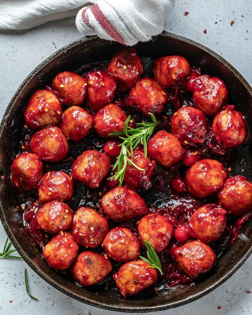 healthy chicken meatball recipe