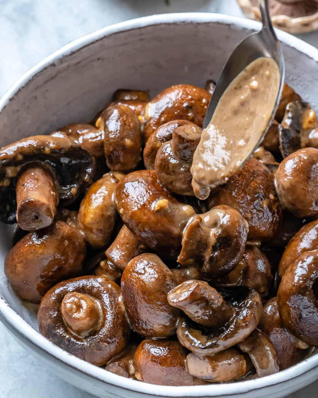 mushroom side dish recipe