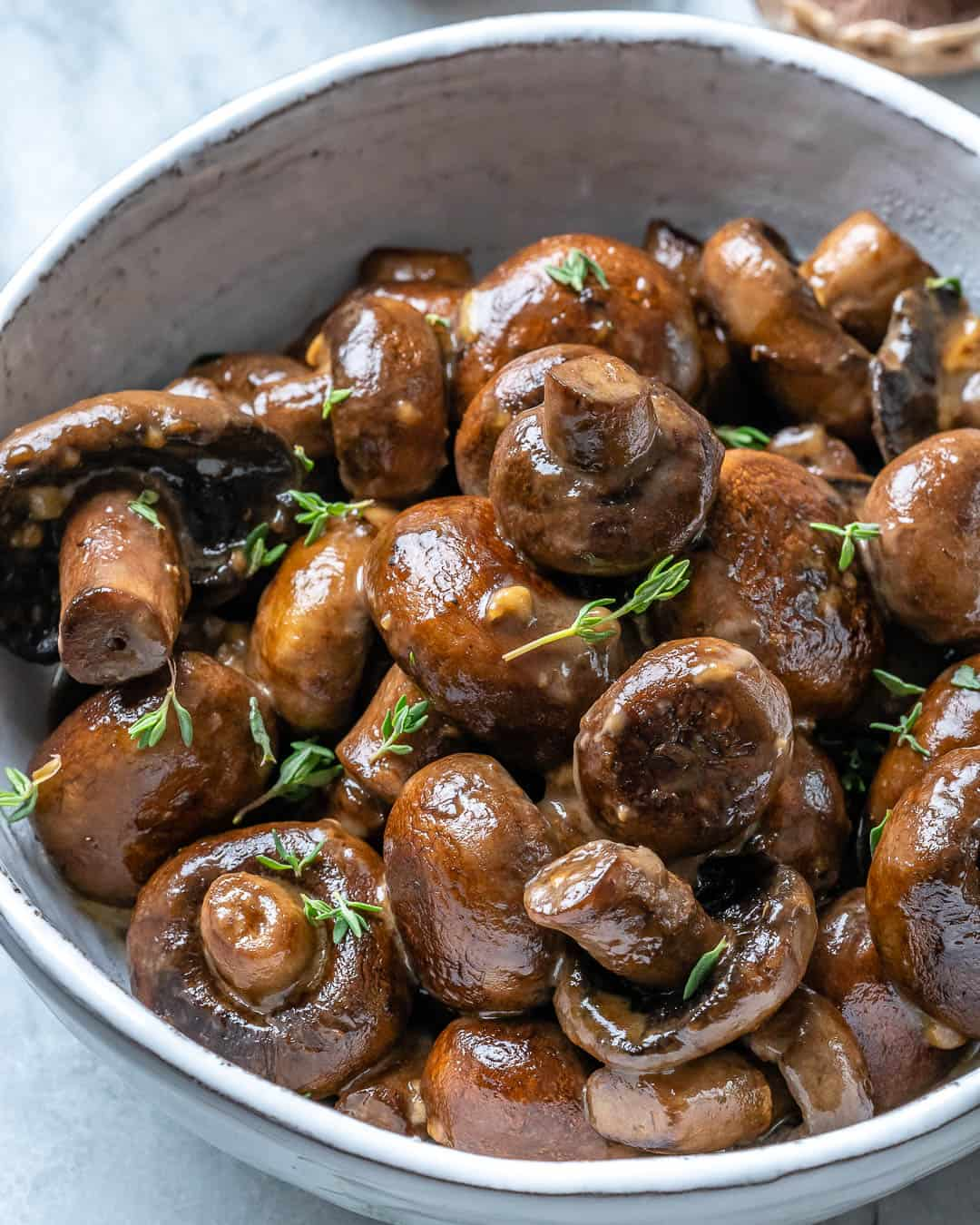 easy mushroom side dish recipe