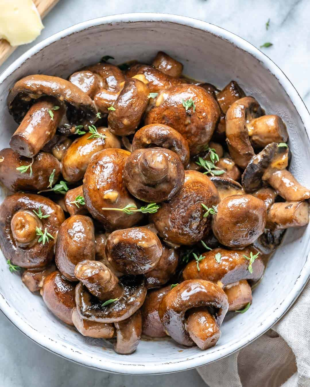 easy garlic mushroom recipe