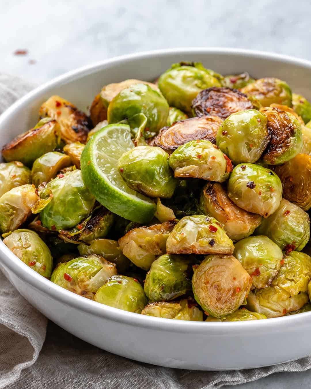 steamed brussel sprouts recipe