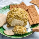 easy olive coated cheese ball recipe