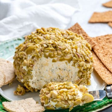 olive covered cheese ball