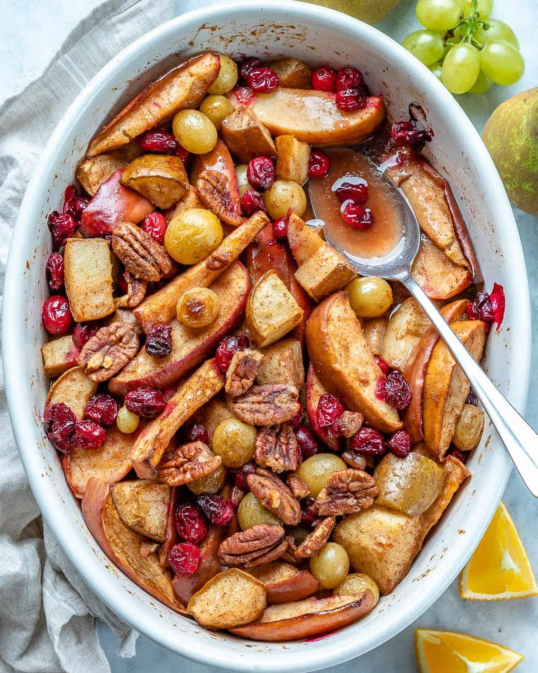 fresh fruit bake dessert recipe