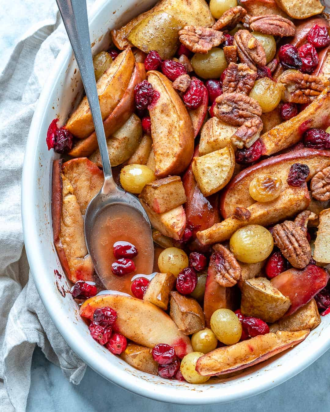 healthy baked fruit recipe