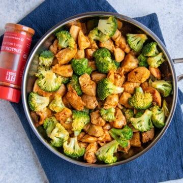 chicken and broccoli skillet recipe