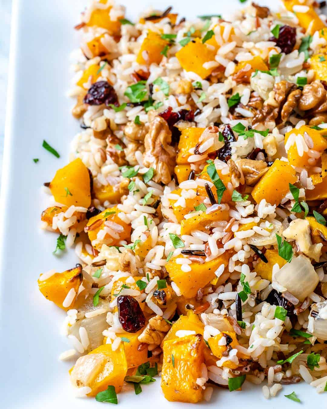 wild rice pilaf recipe with butternut squash