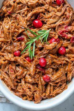 Slow Cooker Cranberry Beef Brisket