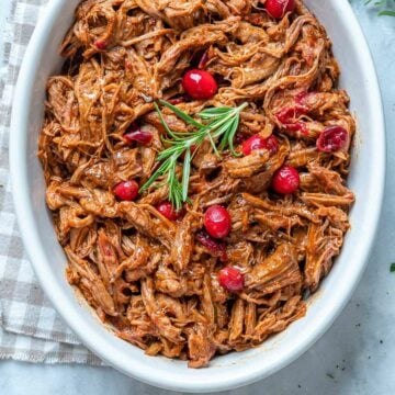 Slow-Cooker Cranberry Beef Brisket