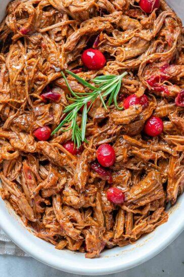 Slow-Cooker Cranberry Beef Brisket