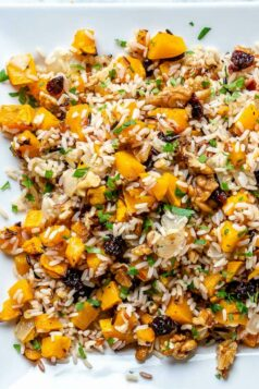 Wild Rice and Squash Pilaf Stuffing