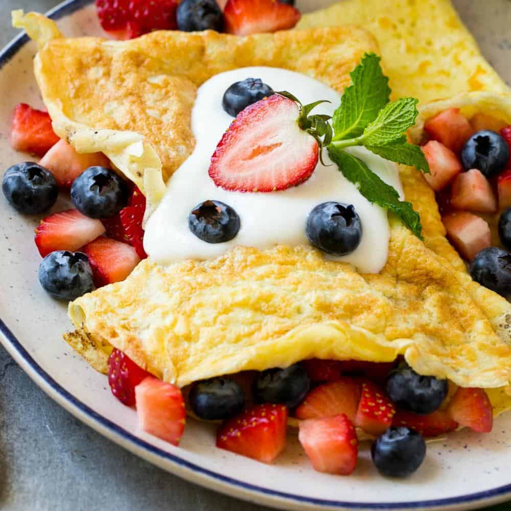 high protein crepes recipe