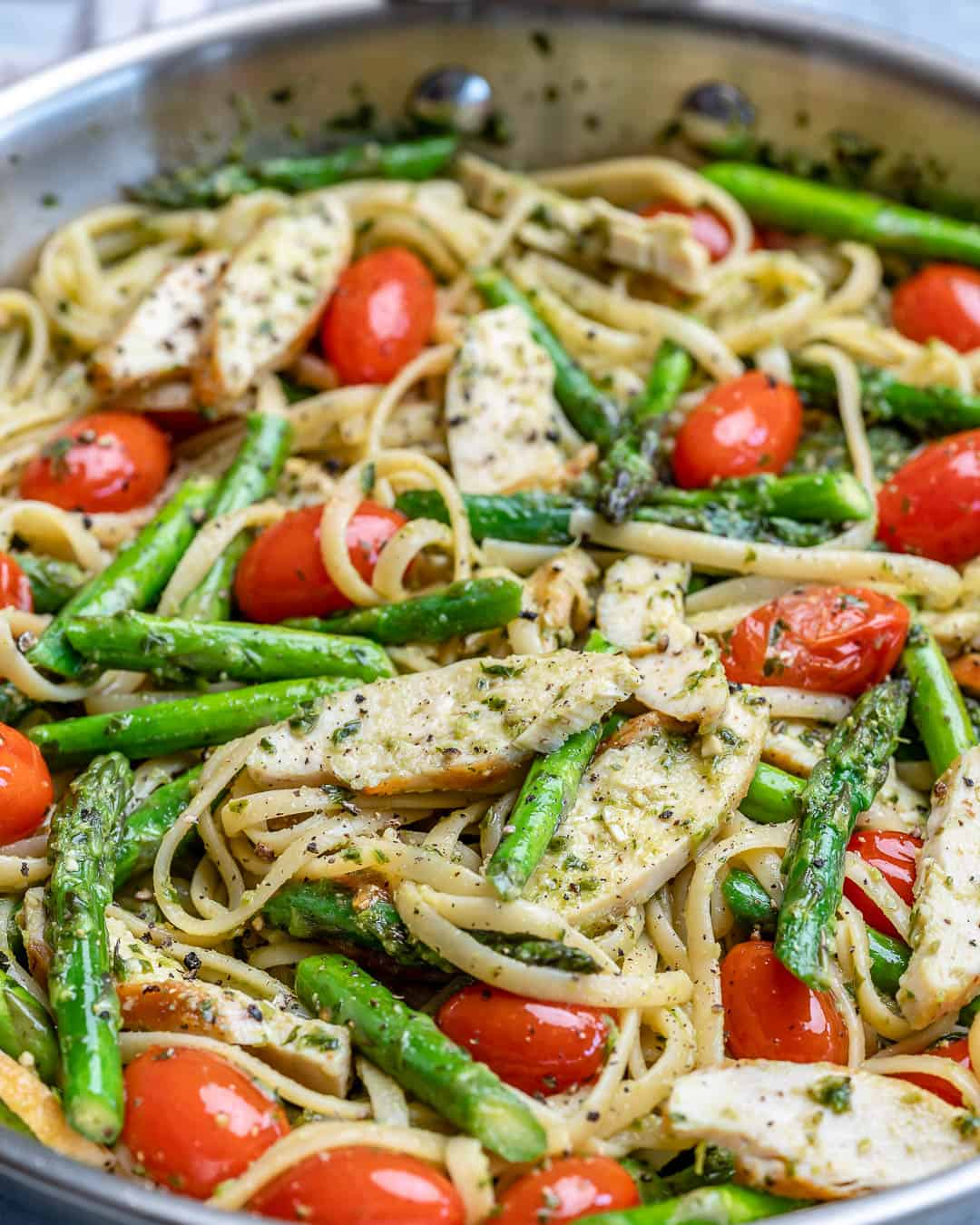 healthy chicken pesto recipe
