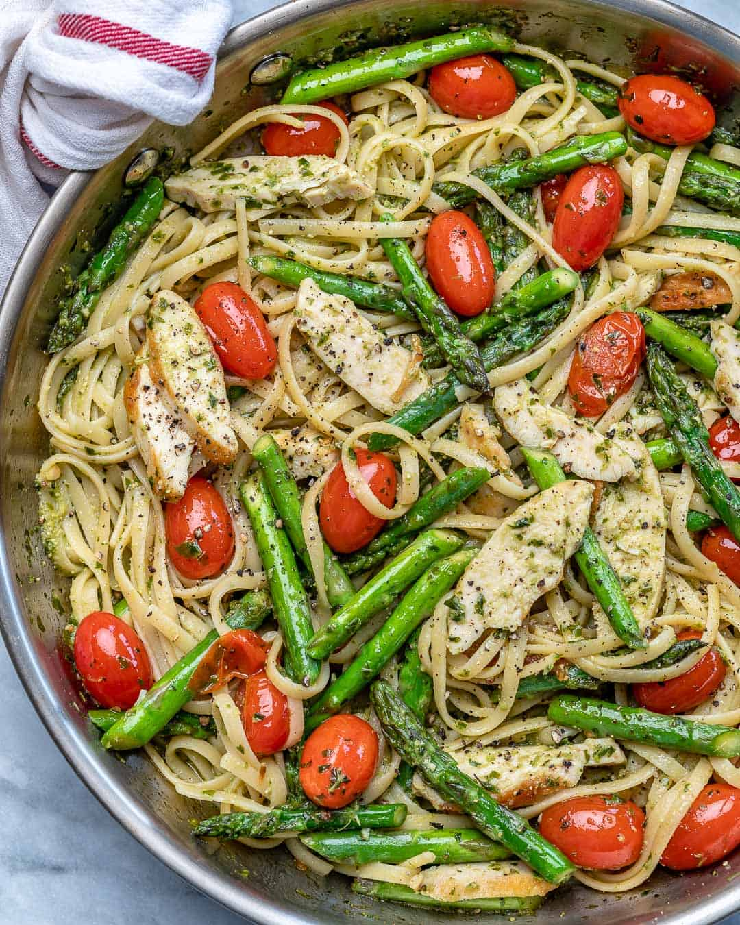asparagus and chicken pasta recipe