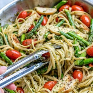 chicken asparagus pasta recipe