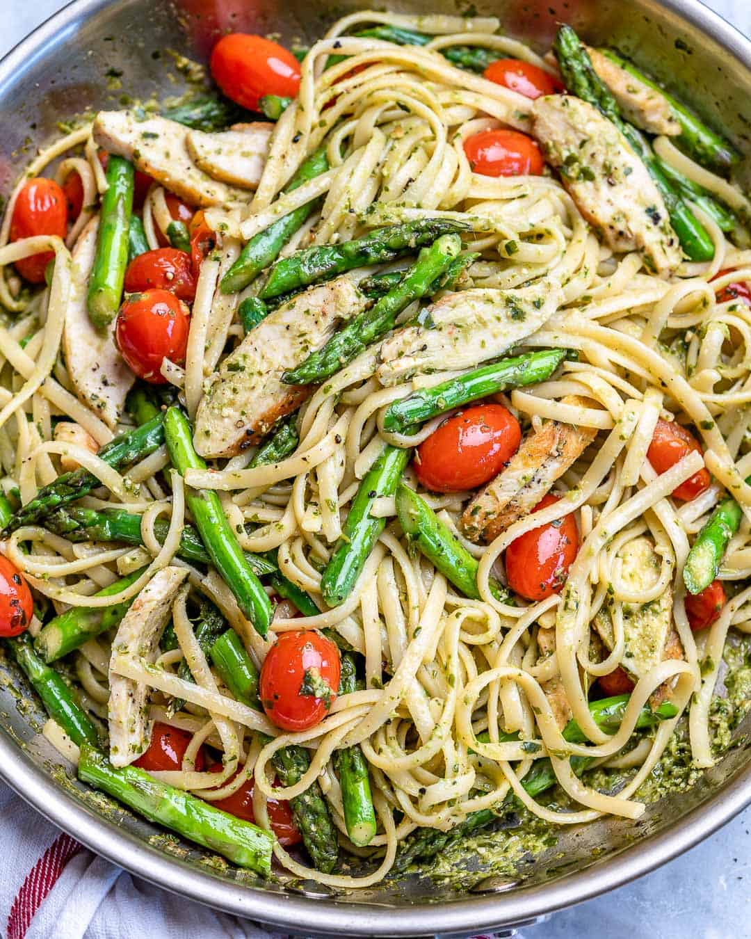 healthy chicken pasta recipe