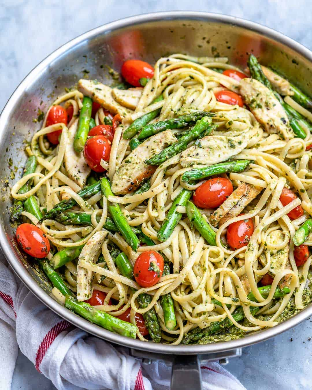 asparagus chicken pasta recipe