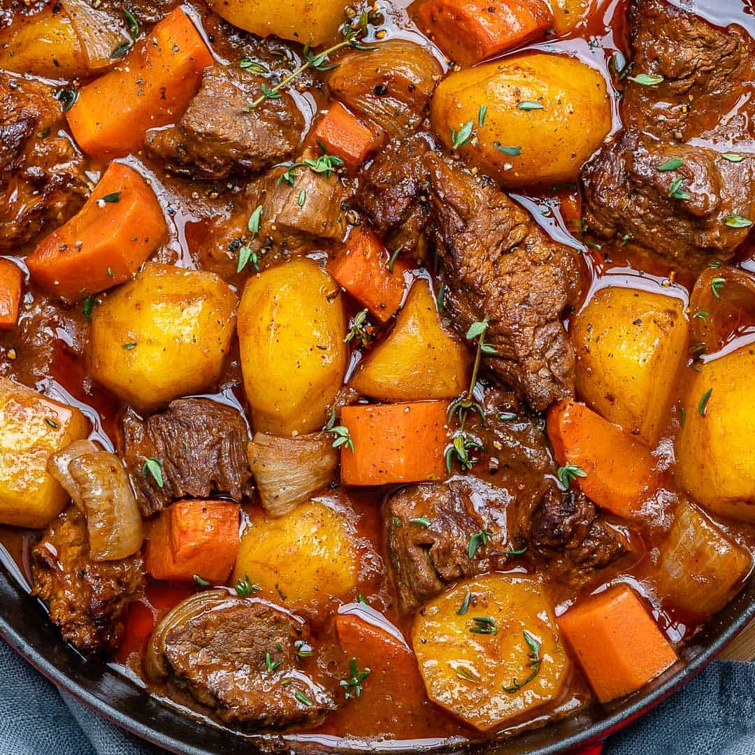 Easy Homemade Beef Stew