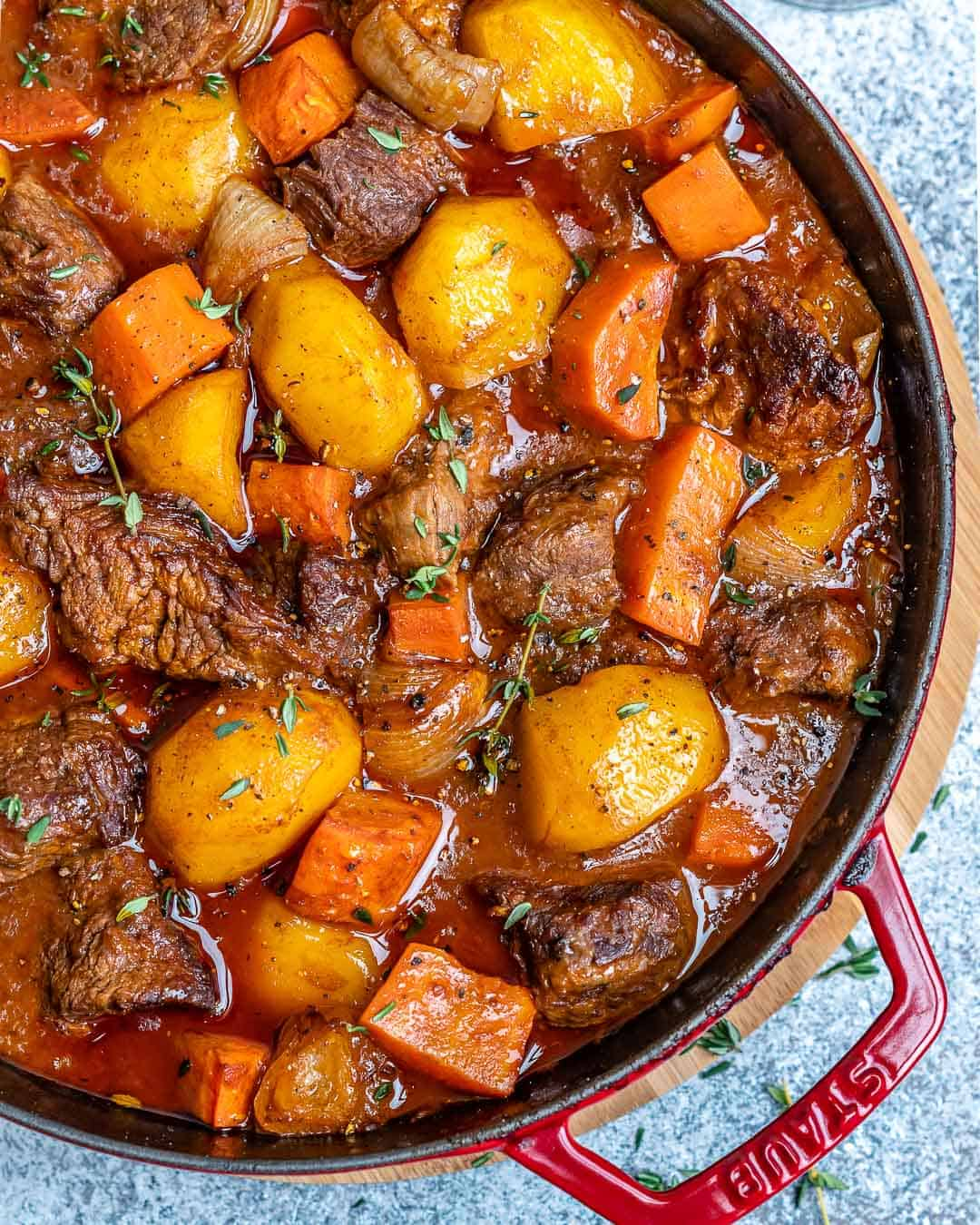 Easy Homemade Beef Stew Healthy Fitness Meals