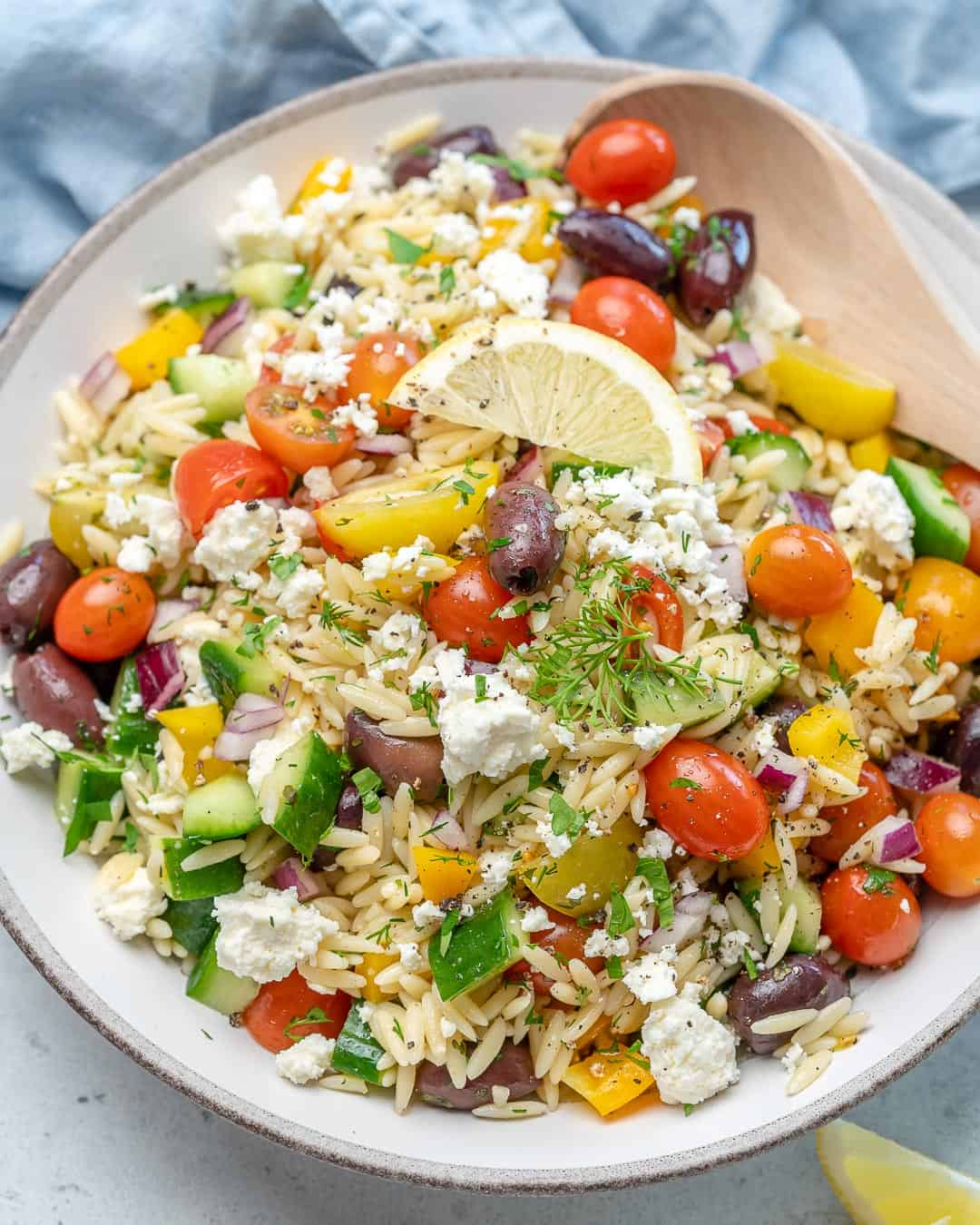 Best and easy orzo salad recipe