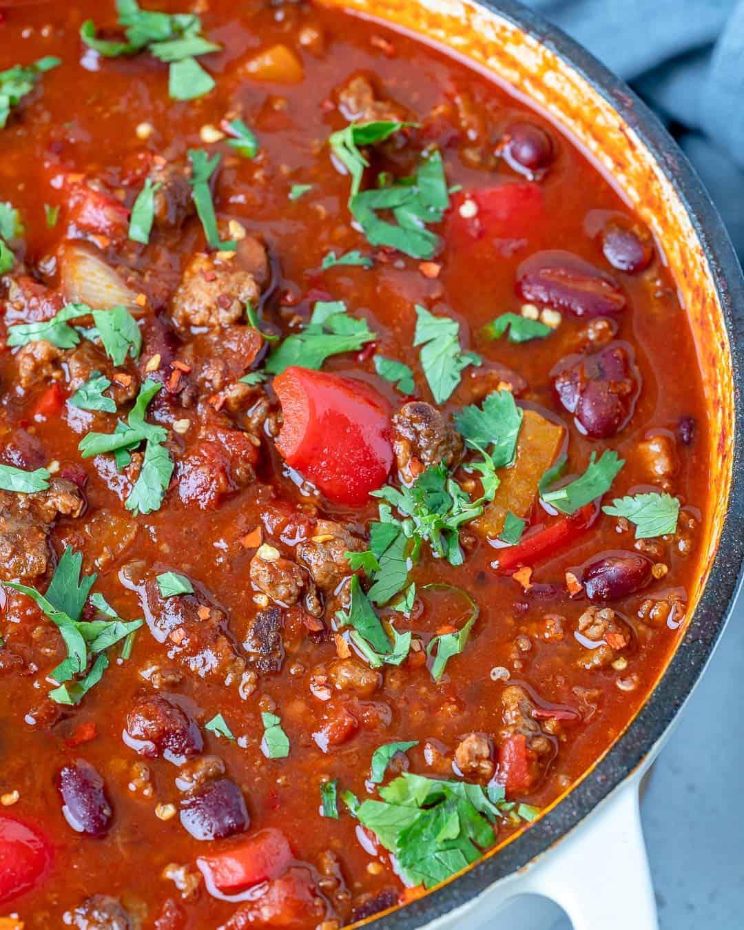 easy beef chili recipe