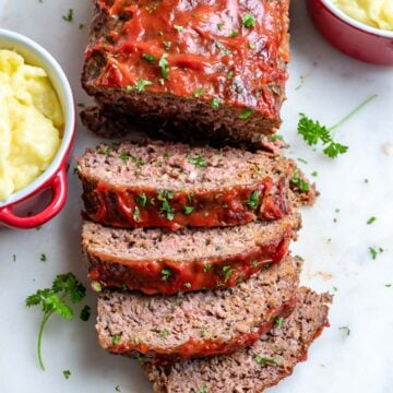 easy homemade meatloaf