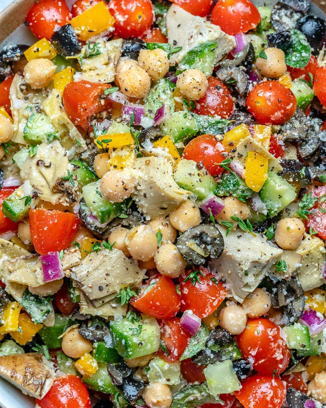 vegetarian chickpea salad recipe